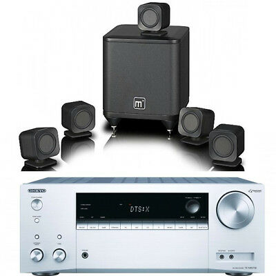 Pioneer VSX-831 + Tannoy HTS101 XP 5.1 Home Cinema Bundle Package Inc 5M Cable