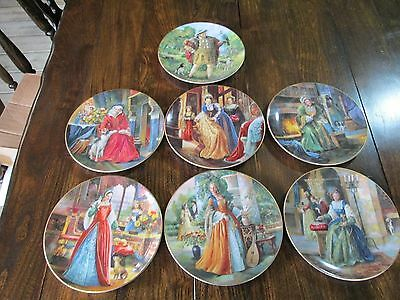 Royal Doulton Collecters Gallery Edition HENRY VIII AND 6 WIVES Full set Plates