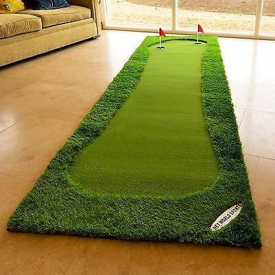 FORB Professional Golf Putting Mat - Practise Putting Skills (Choose Your Size)