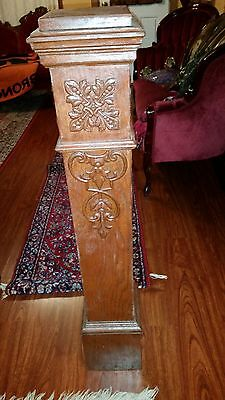 Antique Architectural salvage wood stair post.