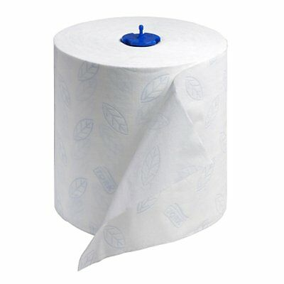 Tork 290094 Premium Extra Soft 2-Ply Hand Roll Towel, White Pack of 6