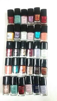 Covergirl Nail Polish  Assorted Colors Blue Pink Metallic Wholesale Lot of 30