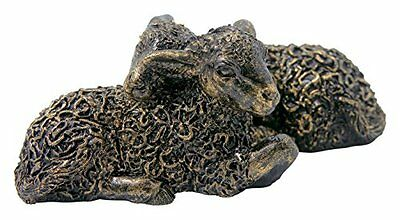 Border Fine Arts studio bronzo Lambs figurine