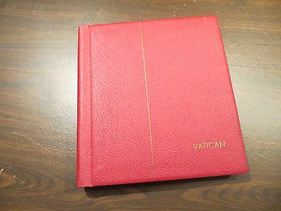 Lighthouse Vatican Hingeless Album 1852-1976 Red Binder - BEAUTIFUL CONDITION
