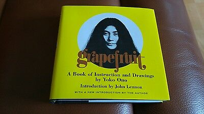 Grapefruit A Book of Instructions and Drawings by Yoko Ono hardback