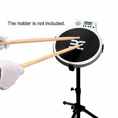 EX 3 IN 1 Electronic Drum Practice Pad 3 Mode Metronome Speed Detection DT40