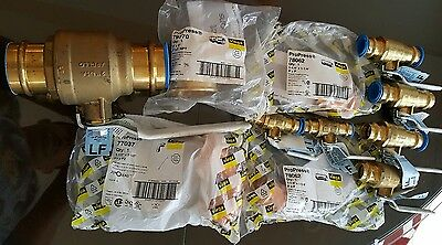 Brand new lot of Viega ProPress apollo ball valves and copper fittings Lead free
