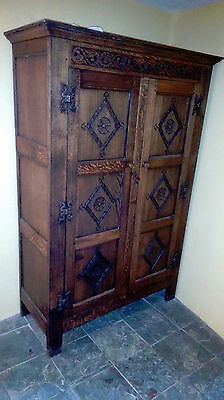 Antique style reproduction wardrobe
