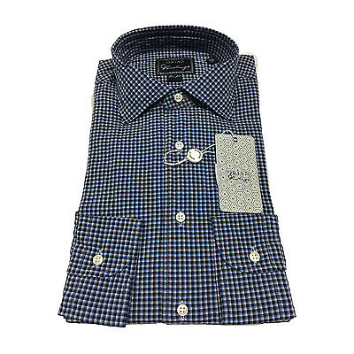 ORIAN VINTAGE men's shirts fantasy check slim fit