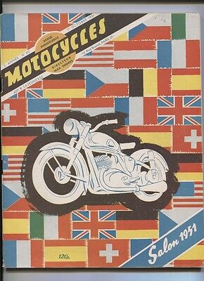 MOTOCYCLES : N°60 special salon 1951