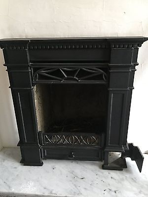 Cast iron fire place with Marble Hearth