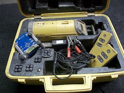 TOPCON TP-L4G Green Beam Pipe Pipeline Laser System Set  *Good Ready Condition*