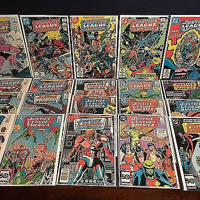 Higher Grade JUSTICE LEAGUE OF AMERICA lot run 29 ISSUES 196-248 JLA Bronze Age!