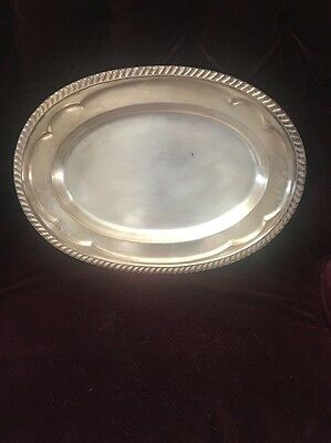 Reed And Barton Silver Soldered Serving Platter