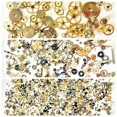 30 Grams Variety Pack Steampunk Watch Parts Wheels Gears Hands Altered Nail Art