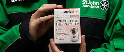 St John Ambulance Kinetik Non Contact Thermometer  - Free Uk Delivery