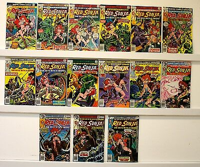 Red Sonja lot of 15 books