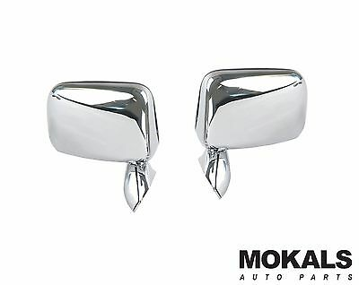 Toyota Hilux 1988-2005 Chrome door mirrors left and right (pair) skin mount