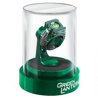 DC Comics Green Lantern Prop Replica Power Ring and Display Case - Noble