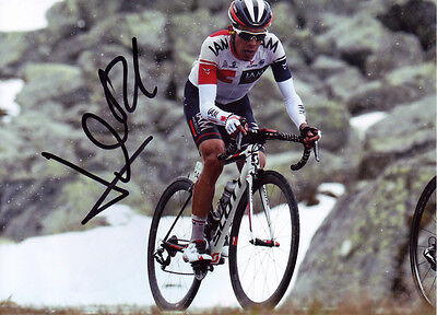 Jarlinson Pantano Signed 5X7 inches 2016 IAM Cycling Team Photo