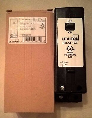 Leviton GreenMAX RELAY-1CB 1-Pole 30A latching relay