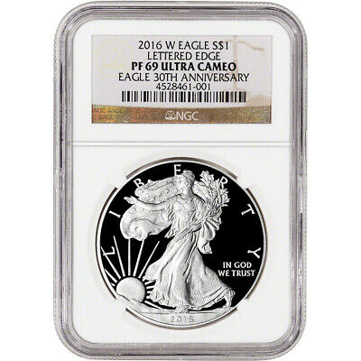 2016-W American Silver Eagle Proof - NGC PF69 UCAM