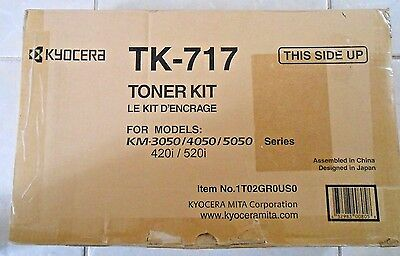 Genuine Kyocera TK-717 Toner Kit for KM-3050/4050/5050/420i/520i