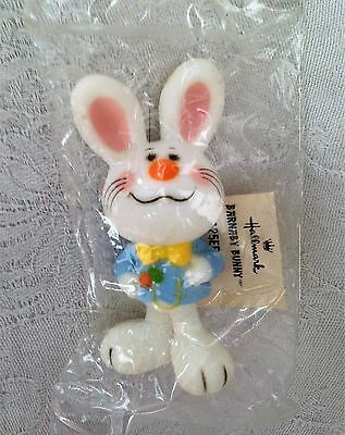 Vintage Hallmark Easter Barnaby Bunny Merry Miniature Still In Package Rare