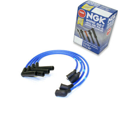1 pc NGK Spark Plug Wire Set for 1997-2002 Mitsubishi Mirage 1.5L L4 - bi