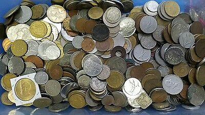 World foreign mixed coins 3 Lbs free Notes!