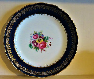 Vintage George Jones China Cabinet 18cm Plate  Flowers & Gilding
