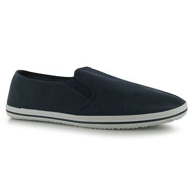 Slazenger Slip On Canvas Tai-Chi / Kung Fu Shoes - Navy