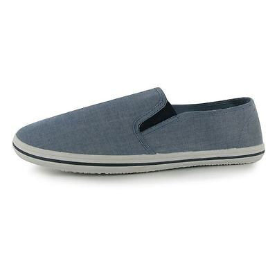 Slazenger Slip On Canvas Tai-Chi / Kung Fu Shoes - Chambray