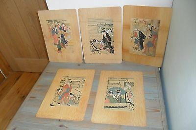 Vintage Chinese Table/Place Mats - Good condition