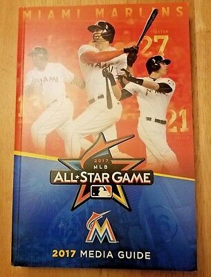 2017 MIAMI MARLINS MEDIA GUIDE! OZUNA/STANTON/YELICH! 2017 All-STAR GAME! HOT!