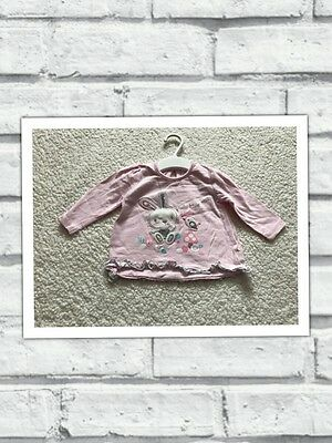 Baby Girls Clothes 0-3 Months - Pretty Bunny T Shirt  Top