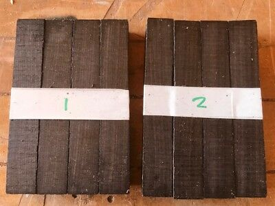 FSC 100% African blackwood pen blank / turning blank / sets of 3 / 17-18mm SQ