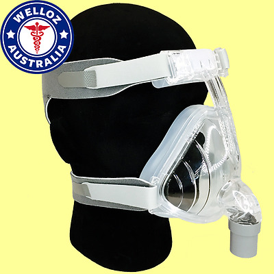 Full Face CPAP Mask inc. Headgear | BMC F2 | 3 Sizes | Fits All CPAP | $99 DEAL