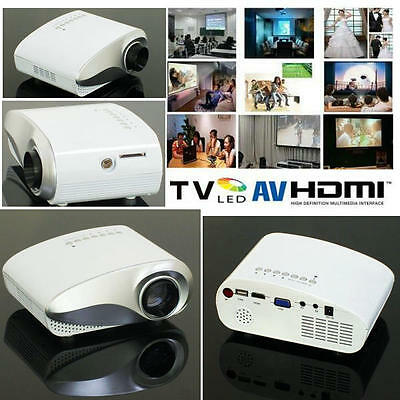 NEW Mini LED Projector Black for Home