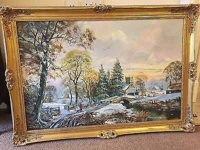 Beautiful Original John Corcoran Oil Painting