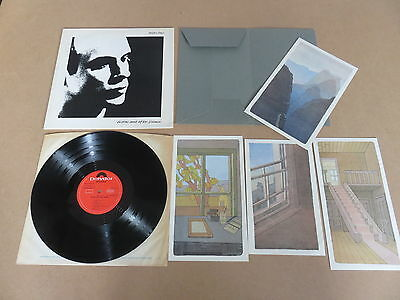 BRIAN ENO Before And After Science LP RARE ORIGINAL UK 1ST PRESSING & ART PRINTS