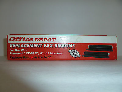 Office Depot Replacement Fax Ribbons for Panasonic KX-FA 55