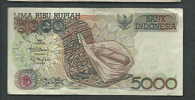 Indonesia 1992/1999 5000 (5,000) Rupiah P 130h Circulated