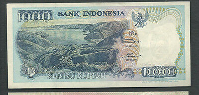 Indonesia 1992/1994 1000 (1,000) Rupiah P 129c Circulated
