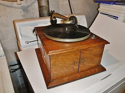 Clean VICTOR VICTROLA VV-IV Phonograph 1917 working