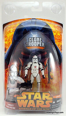 Star Wars Revenge of the Sith Clone Trooper Target Exclusive with Case
