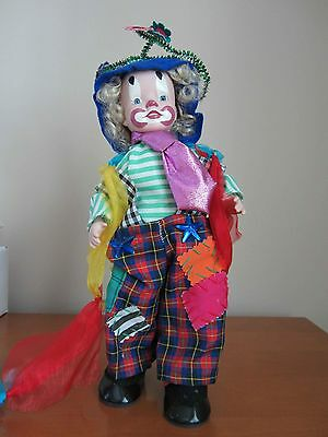 Effanbee Patches Clown Doll - Excellent Condition - One Owner