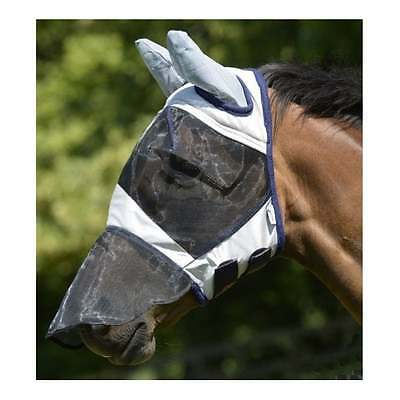 New MASTA Fly Mask With EARS & NOSE, Small Pony, Pony, Cob, Full, XFull
