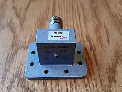 Andrew C137CNSG WR137 Waveguide to Type N  Female Coax Adapter / Transition