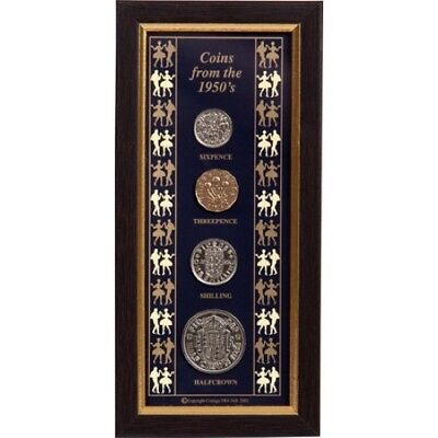 Framed Coins of the 1950s